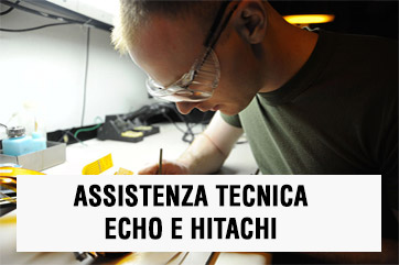 Assistenza Echo e Hitachi